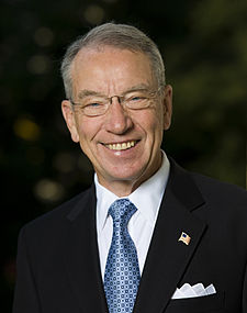 (R-IA) Sen. Charles Grassley
