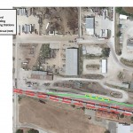 """Outline of plans for a truck-to-railcar """"Transloading station"""" in Atlantic."""