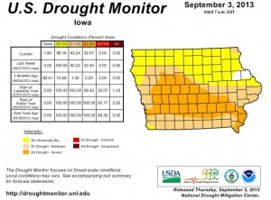 Drought Monitor 9-5-13