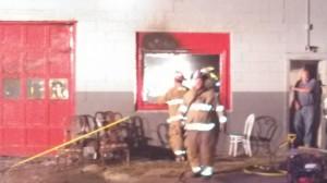 304 W. 2nd St. fire (Ric Hanson photo)