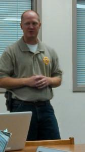 Cass Co. Deputy Corey Larsen