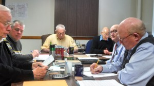 Frank Waters (Center) heads up the Thursday meeting of the Cass County Board of Supervisors.