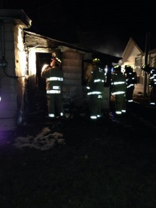 Atlantic Fire Dept. photo (from their FaceBook page) - rear view of the house.