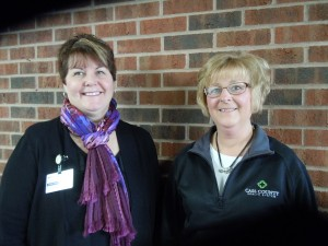 Nancy Templeman (right) and Melissa Namanny are have been trained to assist individuals with the health insurance marketplace and are now Certified Assistance Counselors. (Photo submitted)