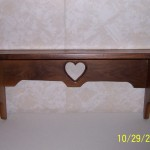 Walnut Shelf-Front View