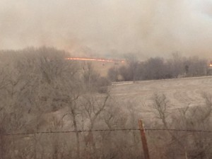 File photo (area field fire March 2014)