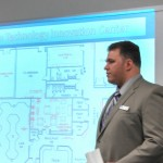 Joe Vanstrom talks about the new Design Tech. Innovation Center. (Ric Hanson/photos)