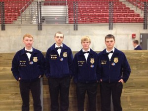 Farm Bus Team:  Adam Freund, Clayton Saeugling, Marshal McDermott, Clint Hansen