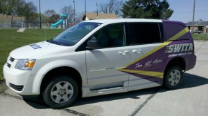 One of the various forms of SWITA transportation available to area residents.