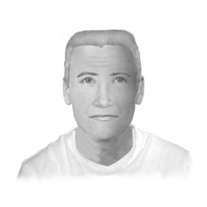 Composite police sketch of Person of Interest in Wood murder and disappearance.