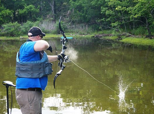 Local and state officials agree bowfishing is allowed at for Bow fishing rod