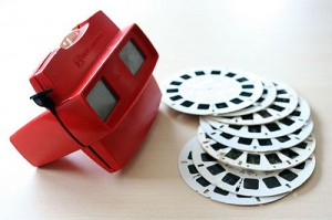 The Viewmaster and discs.