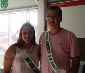 2014 4-H King and Queen