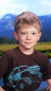 9-year old Lance Palmer