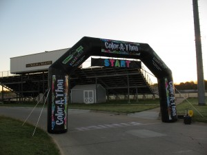 All photos by Color Run participant & KJAN News Director, Ric Hanson.