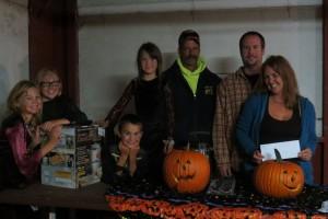 (left to right) Johnson family, Gary Vetter and Melissa Ehrman-Johnson. (Photo provided)