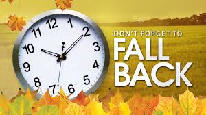 Set your clocks back 1 hour before you go to bed tonight.