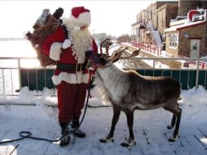 Reindeer Santa Fitgers (3)