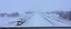I-80 westbound at the 53 mile marker