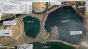 Proposed additional trail around Lake #2 at the Schildberg Rec Area.