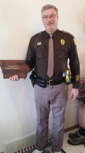 Iowa State Patrol Trooper Scott Pigsley.