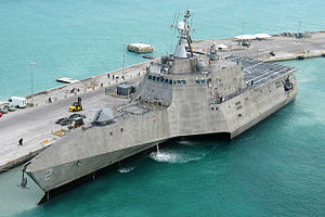 The future, USS Omaha's sister-ship, (the identical) USS Independence.