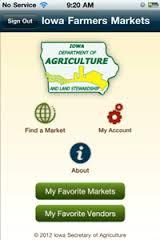 Farmers Market App