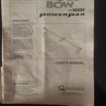 bowflexmanual