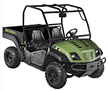 The UTV stolen was similar in appearance to this vehicle