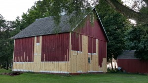 The original 1880 horse barn has been restored this summer and will be open for all to see during the 2015 edition of Carstens Farm Days which takes place September 12 & 13, 2015.