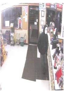 Photos from the Creston P-D's Facebook page as captured by surveillance cameras in the store.