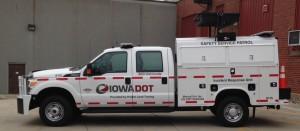 Iowa DOT Hwy Helper truck