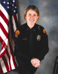 Atlantic Police Officer Christin Vavricek