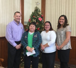 Delta Zeta Chapter of Beta Sigma Phi Donation Picture