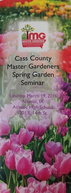 Garden Seminar 1