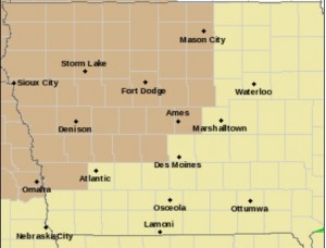 Wind Advisory Wednesday for counties in brown.
