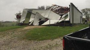 Stanton Tornado damage 4-27-16 (Photo by Stanton Fire Chief)