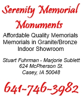 Serenity Memorial Monuments