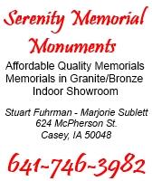 Serenity Memorial Monuments