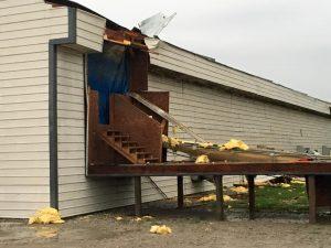 Forsman Farms damage (Brian Hamman - Montgomery EMA photos)