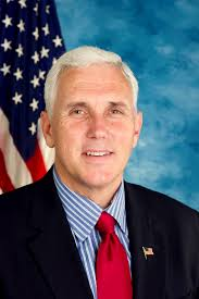 Indiana (R) Gov. Mike Pence