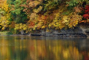 Photo from the Iowa River, Coralville, Iowa City CVB via Radio IA