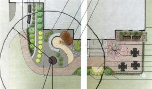 Memorial Reading Garden concept