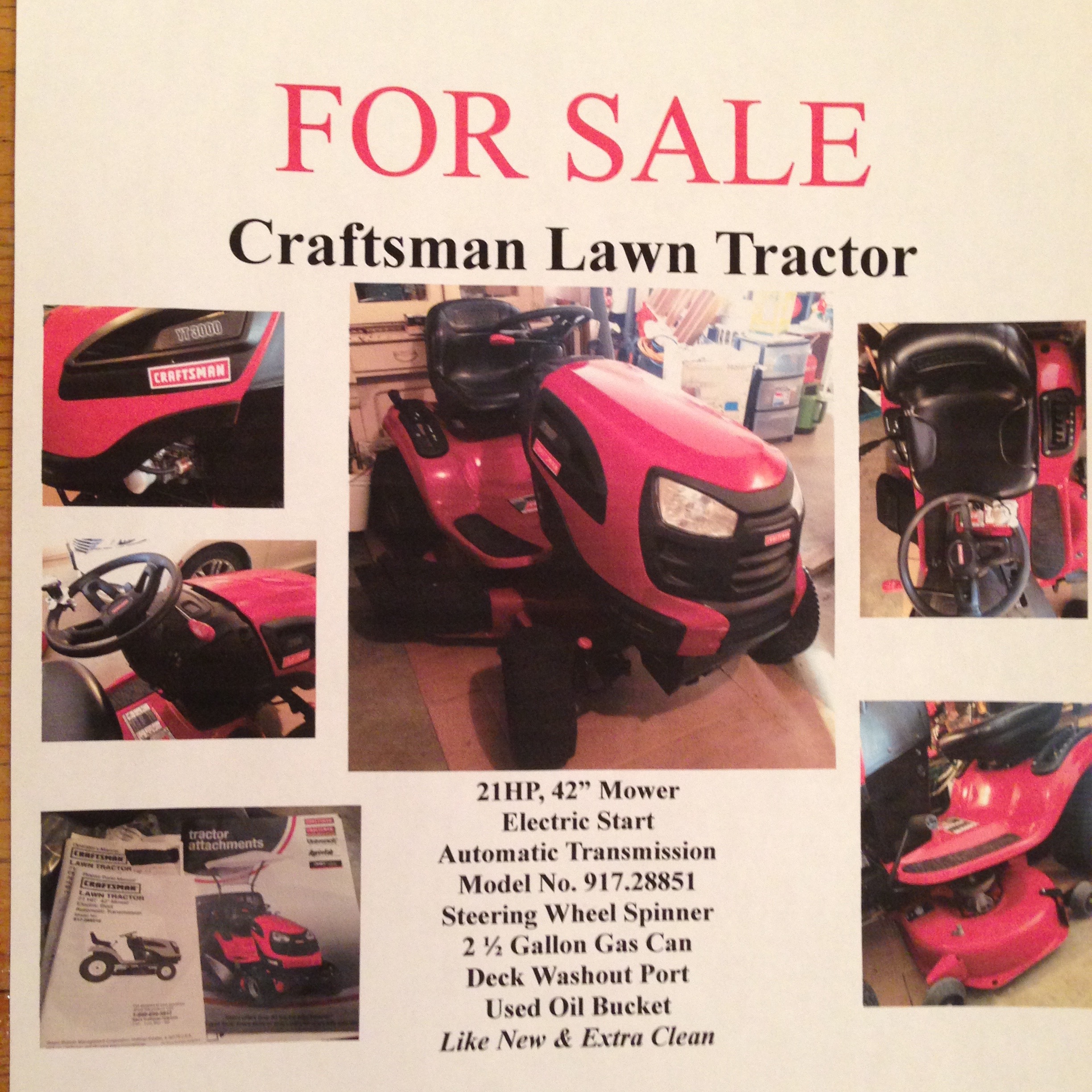 Craftsman Mower 917288515 Wiring Diagram For Sears Lawn Tractor Monday April 24th Kjan Radio Atlantic Ia Am 1220 Riding